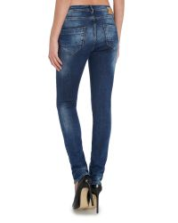 Blend She | Blue Bright Galia Slim Jeans | Lyst