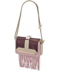 Azzaro | Multicolor Vendôme Chaine & Fringe Shoulder Clutch | Lyst