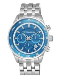 Vince Camuto | Metallic Chronograph Bracelet Watch for Men | Lyst