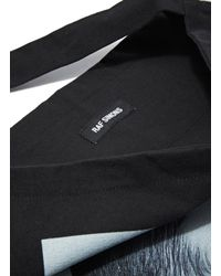 Raf Simons - Unisex Isolated Heroes Tote Bag In Black for Men - Lyst