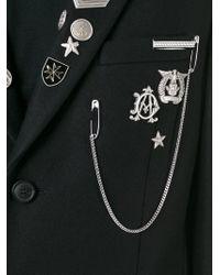 Diesel Black Gold - Black 'ja-raw' Coat for Men - Lyst
