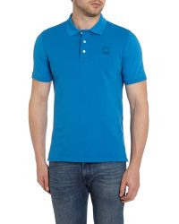 G-Star RAW | Blue Fero Slim Fit Polo Shirt for Men | Lyst
