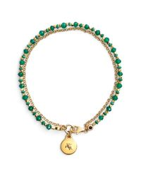 Astley Clarke | Green 'biography' Beaded Bracelet | Lyst