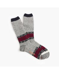 J.Crew | Gray Chup Tahiti Socks for Men | Lyst
