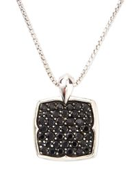 Stephen Webster - Metallic Black Sapphire Pendant Necklace - Lyst