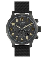 Filson - Black 'the Mackinaw Field' Chronograph Watch for Men - Lyst