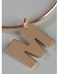 Maman Et Sophie | Metallic 'm' Bracelet | Lyst
