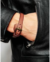 Polo Ralph Lauren | Brown Leather Bracelet for Men | Lyst