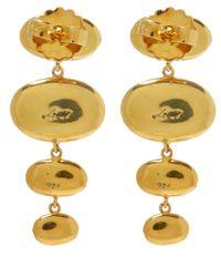 Larkspur & Hawk - Green Small Gold Topaz Tessa Earrings - Lyst