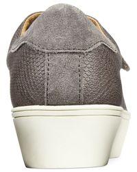 Nine West | Gray Hidriate Platform Sneakers | Lyst