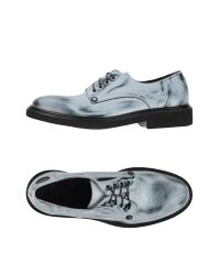 Paciotti 308 Madison Nyc | Gray Lace-up Shoes for Men | Lyst