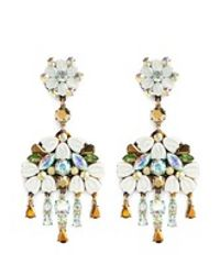 J.Crew | Multicolor Cosmos Cluster Chandelier Earrings | Lyst