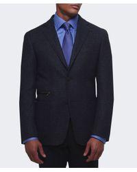 Corneliani   Blue Virgin Wool Jacket for Men   Lyst