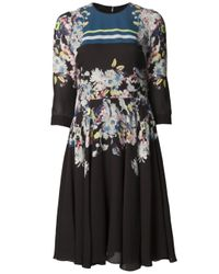 Erdem - Multicolor Cowen Dress - Lyst