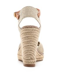 Tory Burch - Brown Macy High Wedge Espadrilles - Lyst