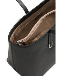 HUGO - Black Leather Shopper: 'nadalia' - Lyst