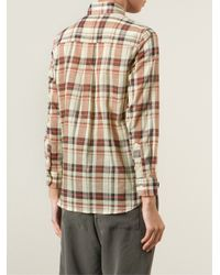 Étoile Isabel Marant | Natural 'flynn' Plaid Shirt | Lyst