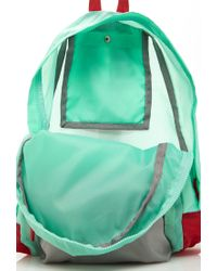 Forever 21 - Green Colorblocked Backpack - Lyst