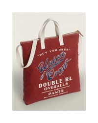 RRL - Red Liberty Market Tote for Men - Lyst