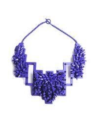 Heaven Tanudiredja | Purple Drake Necklace | Lyst