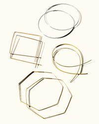 Lana Jewelry - Yellow Flat Magic Hoops - Lyst