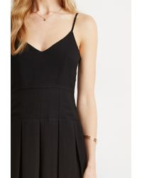 Forever 21 - Black Box Pleat Cami Dress - Lyst