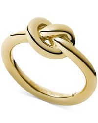 Michael Kors | Metallic Knot Ring | Lyst