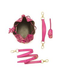 Ralph Lauren - Pink Small Ricky Drawstring Bag - Lyst