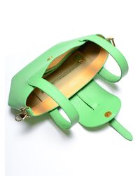 meli melo | Green Thela Mini Bag In Pistachio By | Lyst
