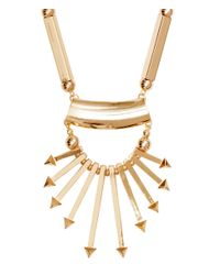 H&M | Metallic Necklace With A Pendant | Lyst
