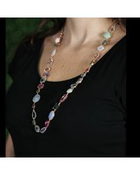Irene Neuwirth | Multicolor Multi-Colored Stones Charm Necklace | Lyst