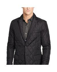 Polo Ralph Lauren - Black Quilted Sport Coat for Men - Lyst