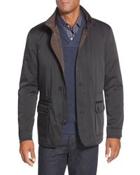 Bugatchi | Blue Utility Jacket for Men | Lyst