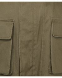 Lemaire   Green Olive Military Parka for Men   Lyst