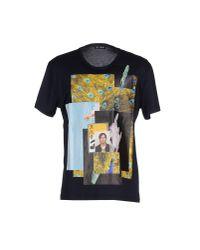 Raf Simons - Blue T-shirt for Men - Lyst