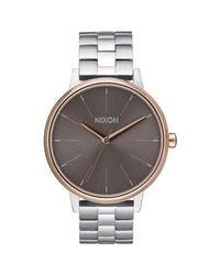 Nixon - Metallic Women's Kensington Bracelet Strap Watch - Lyst