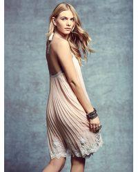 Free People | Pink Candela X Womens Nova Pleated Mini | Lyst