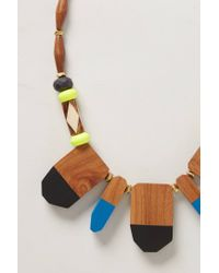 Bluma Project - Multicolor Palettedip Bib Necklace - Lyst