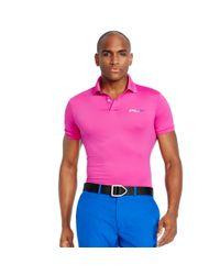 Ralph Lauren - Pink Tailored-fit Polo Shirt for Men - Lyst