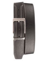 Nike | Black Leather Belt for Men | Lyst