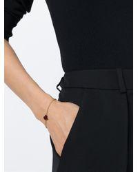 Vivienne Westwood - Metallic Enamel Heart Charm Bracelet - Lyst