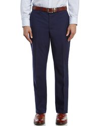 Saint Laurent - Blue Solid Navy Two-Button Suit for Men - Lyst