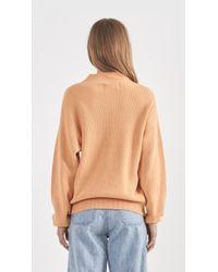 Won Hundred - Orange Catherine Sweater - Lyst