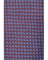 Jil Sander - Blue Woven Silk Tie - Multicolor for Men - Lyst