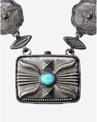 Valentino | Metallic Scarab Pendant Necklace | Lyst