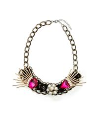 Nasty Gal | Pink Aida Necklace | Lyst
