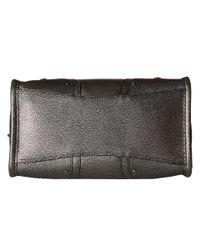 COACH | Crosstown Crossbody In Metallic Pebble Leather | Lyst