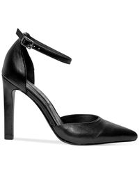 Steven by Steve Madden | Black Adell Pointed-toe Pumps | Lyst