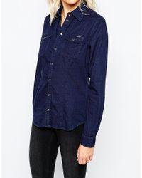 Pepe Jeans - Denim Shirt - Blue - Lyst