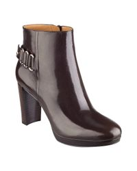 Nine West | Brown Kali Dress Booties | Lyst